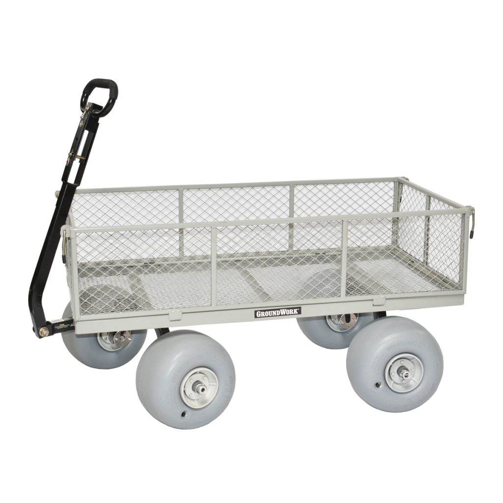 Wheeleez Utility Wagon Beach Conversion Kit Shown